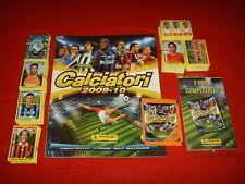 ALBUM FIGURINE CALCIATORI PANINI 2009 2010 10 SET COMPLETO AGGIORNAMENTI V1 V12