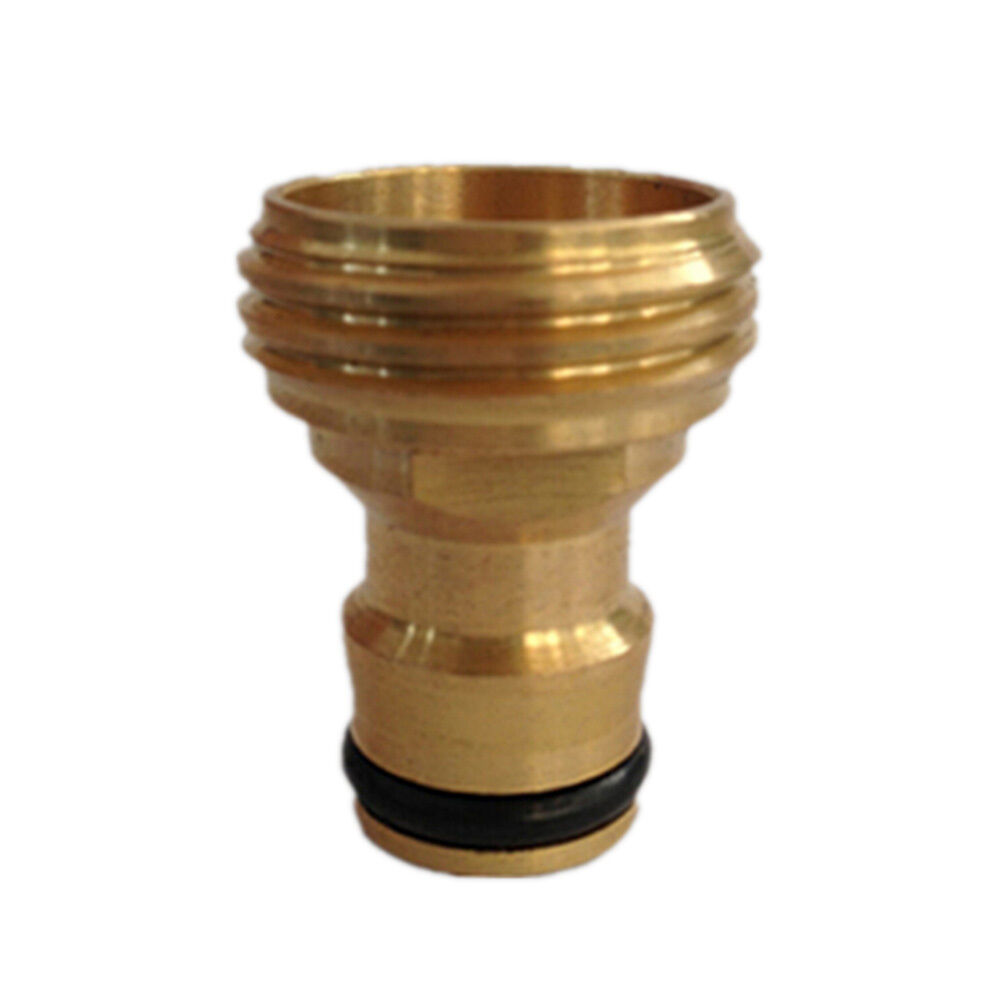 Hot Brass Threaded Hose Water Pipe Connector Tube Tap Adaptor ...