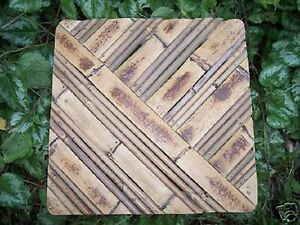 """Gostatue bamboo style 1/8th"""" abs plastic mold 4 designs to choose from in store"""