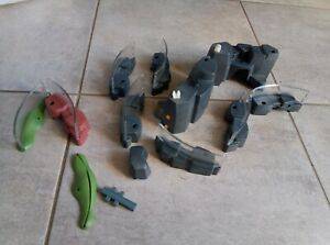 PLAYMOBIL-lot-enclos-zoo-animaux-rocher