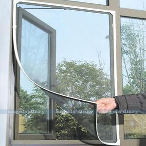 Self-Adhesive Insect Fly Bug Mosquito Window Door Net Mesh Screen Protector
