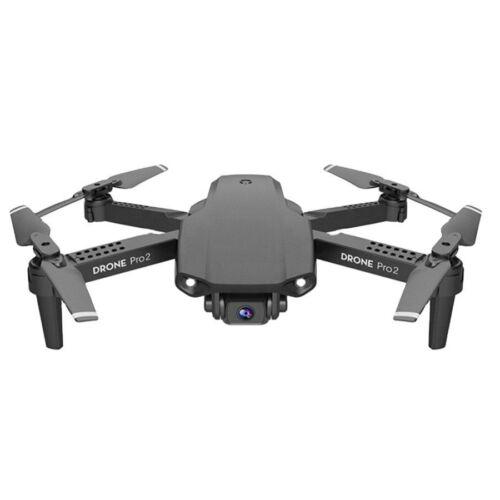 DRONE QUADRICOTTERO PIEGHEVOLE CON 2 TELECAMERE 4K TELECOMANDO O SMARTPHONE WIFI Offerte e sconti