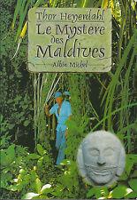 Livre récit le mystère des Maldives Thor Heyerdahl  book