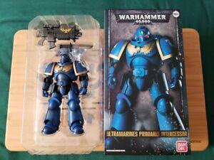 Warhammer-40k-ULTRAMARINE-PRIMARIS-INTERCESSOR-Figure-Bandai-Unplayed-READ