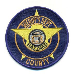 DUKES OF HAZZARD POLICE PATCH - DOH3