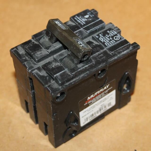Murray Mp215 15 Amp 2 Pole 120  240 Vac Circuit Breaker For