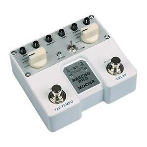 Mooer-REECHO-PRO-Digital-Analog-Delay-Guitar-Pedal-Tap-Stereo-Ping-Pong