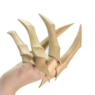League of Legends KDA Evelynn Cosplay Fingers Paw Claw Gold EVA Game LOL Props