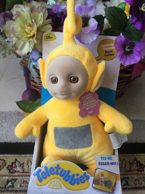 Teletubbies Teletubbie Laugh /'n and Giggle Soft Toy Plush Stuffed Laa Laa Doll
