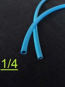 """1FOOT 1//4 /"""" inch 6.3mm CLEAR 2:1 heat shrink tubing polyolefin"""