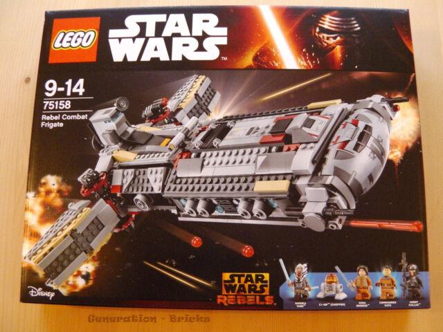 LEGO® StarWars™ (75158) Rebel Combat Frigate inkl.0,00€ Versand NEU & OVP
