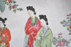 Plat-en-porcelaine-de-Chine-Fin-19eme
