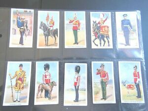 1939-SOLDIERS-OF-THE-KING-royal-uniforms-Godfrey-Phillips-Tobacco-Set-36-cards