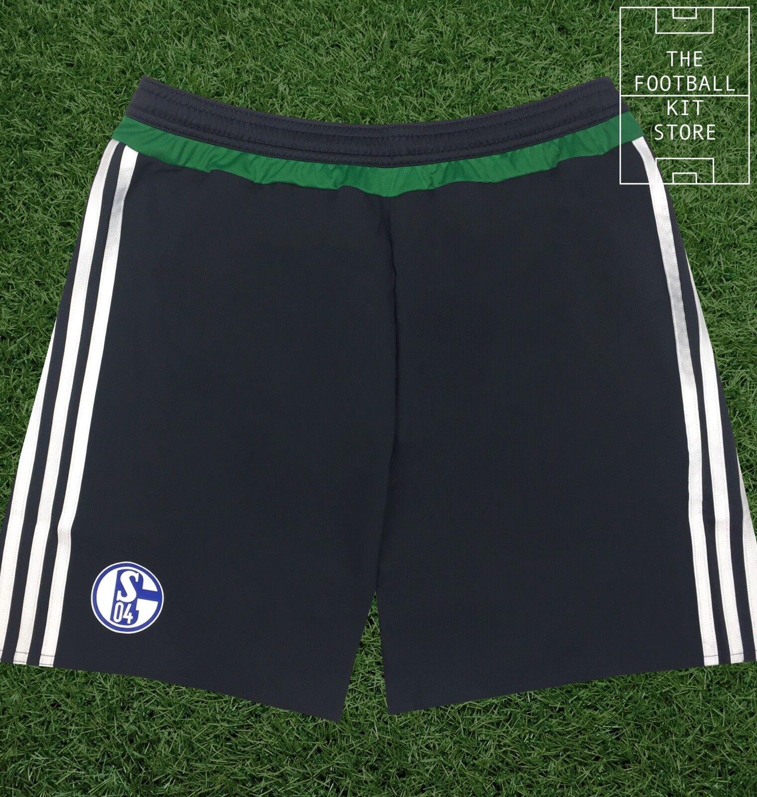 Schalke Third Σορτς - adidas Mens S04 adizero Σορτς ποδοσφαίρου - όλα τα μΡγέθη