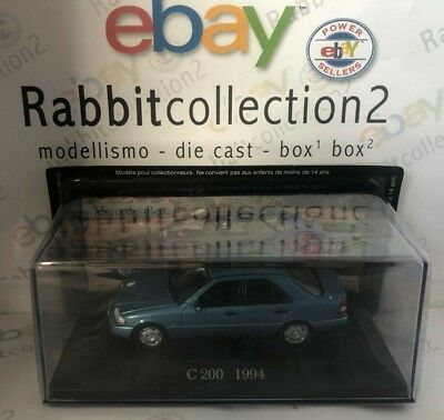 "Die Cast "" C 200 - 1994 "" Mercedes Collection Scala 1/43 (62)"
