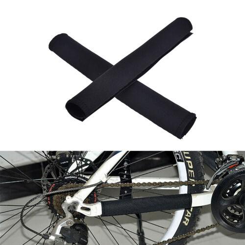 2X Fahrrad Fahrradrahmen Kettenstrebenschutz Schutz Nylon Pad Cover Wrap CBL yn