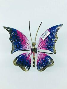 Farfalla Grande Ferro Battuto da appendere vari colori