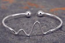 Silber Armreif Armspange Armband 925 Damen Schmuck Geschenk