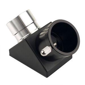 1.25''90-Deg Zenith Mirror (plane) for Eyepiece Astronomical Refractor Telescope
