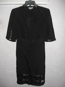 Victorias-Secret-Silk-and-Lace-Black-Dress-Medium