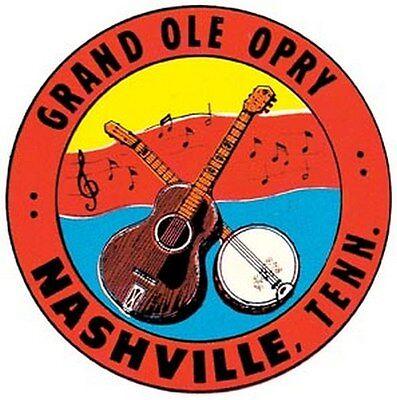 """/"""" My Grass Is Blue /""""    Bluegrass Music   Bumper Sticker decal Nashville Opry"""