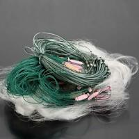 25m 3 Layers Monofilament Fishing Fish Gill Net With Float Durable Us