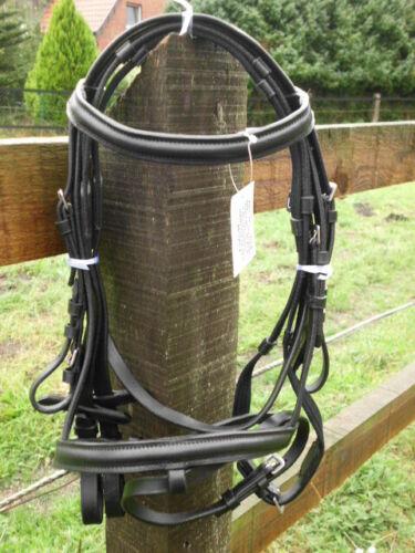 Trense aus Leder für Mini-Shettys und Shettys schwarz