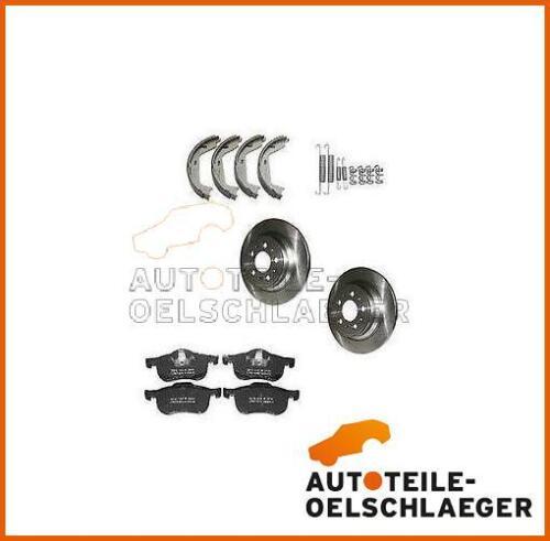 ATO Bremsen-Set Kit hinten komplett+Montagesatz Volvo 850 S70 V70 C70 5