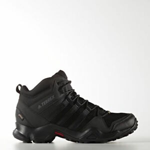 low priced 5b362 be469 Details about Adidas Mens Outdoor Terrex AX2R Mid GTX Shoes, Core BlackVista  Grey - BB4602