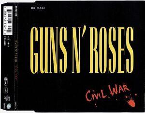Guns-N-039-Roses-Maxi-CD-Civil-War-Germany-VG-VG