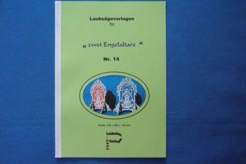 """reinschauen lohnt sich !! Laubsägevorlagen Nr REGU Standaltar/"""" 014 /""""Engel"""