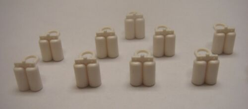 Lego Lot Of 10 white Diver//Space Air Tanks for benny minfigure tank new