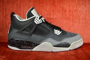 outlet store a77e0 c1538 Details about CLEAN Air Jordan 4 626969 030 Fear Pack Black Gray Platinum  Size 11