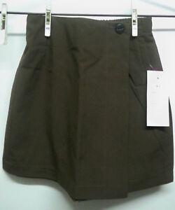 NEW-School-Uniform-Brown-Skort-Skirt-Shorts-Size-4-Size-6