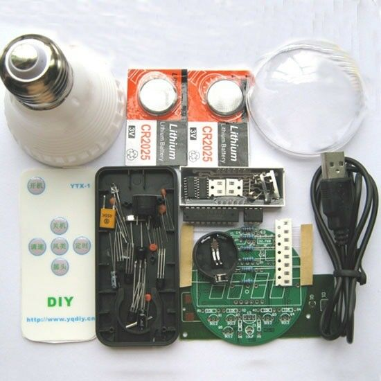 Remote Clock DIY Kit Electronic Clock Kit BCL-1