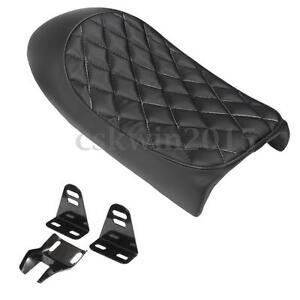 motorrad sitzbank sitzkissen kissen leder schwarz f r honda cb350 cb450 cb750 c3 ebay. Black Bedroom Furniture Sets. Home Design Ideas