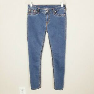 True-Religion-Mid-Rise-Super-Skinny-Jeans-SZ-30