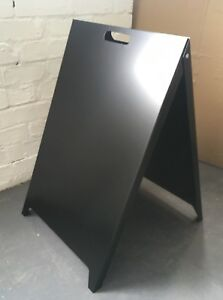 2-of-Metal-Steel-Advertising-Sign-A-Board-Sign-Pavement-Sign-Board-Made-in-GB