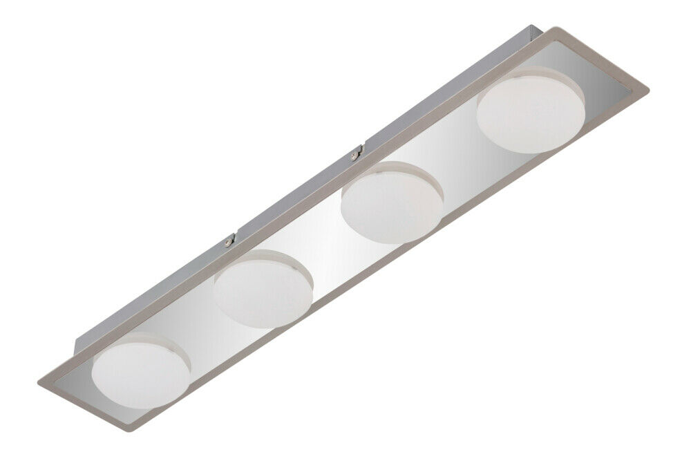 BRILONER  IP44 LED BADLEUCHTE MODERN DESIGN CHROM SURFLINE