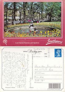 1990039s LORD STREET SOUTHPORT MERSEYSIDE LANCASHIRE OSIZED COLOUR POSTCARD - Weston Super Mare, Somerset, United Kingdom - 1990039s LORD STREET SOUTHPORT MERSEYSIDE LANCASHIRE OSIZED COLOUR POSTCARD - Weston Super Mare, Somerset, United Kingdom