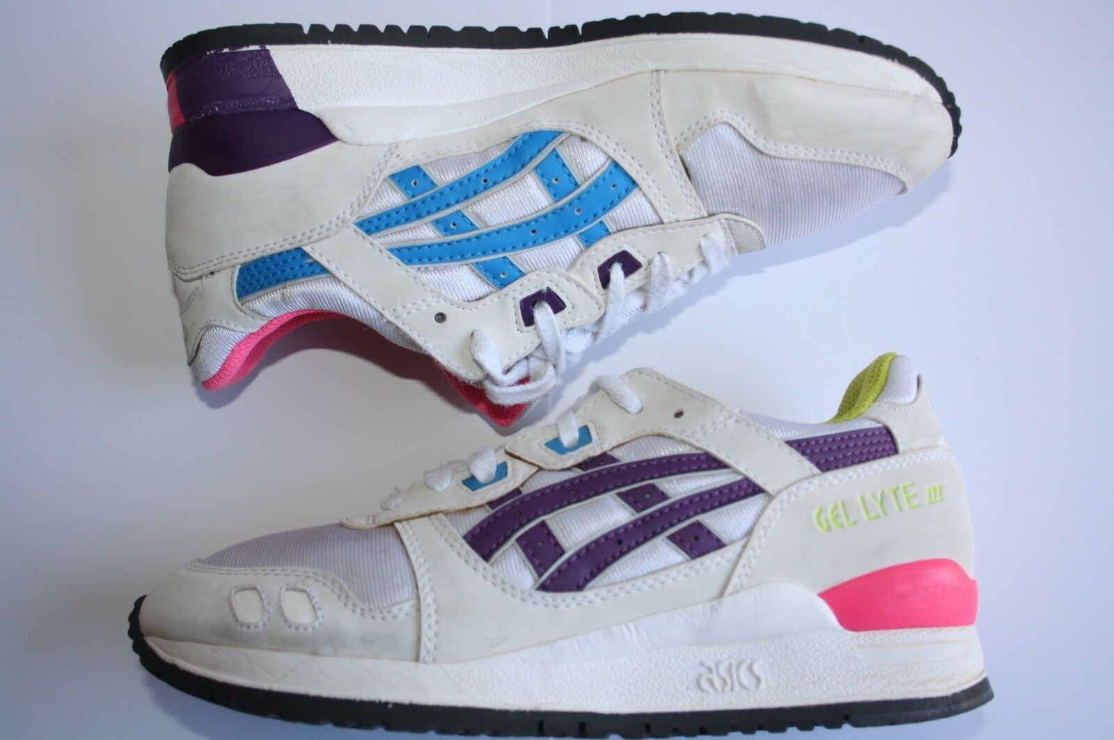 Vintage RARE 90 Gel Lyte 3 III Kith Supreme Asics Shoe Sneaks Ronnie Feig Price reduction Wild casual shoes