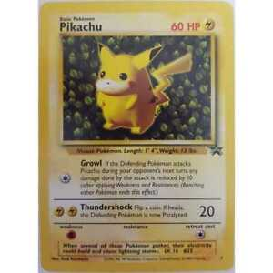 PIKACHU-Pokemon-PROMO-Card-1-Black-Star-Set-Wizard-of-the-Coast-League-1999-NM-M