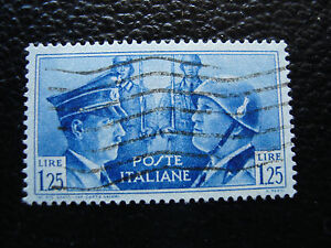 Italy-Stamp-Yvert-and-Tellier-N-437-Obl-A12-Stamp-Italy-A