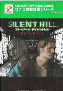 Novela De Jugar Libro Guía oficial Silent Hill/PS