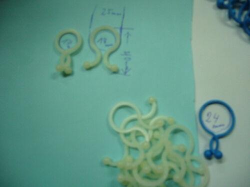 Kabel,Clips,Blumen Kabeldriller Kabelbündel je größe 20 Stk =80 stk Sonderpos.