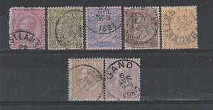 FRANCOBOLLI-1884-91-BELGIO-LEOPOLDO-II-Z-9589