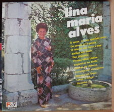 LINA MARIA ALVES FADO PORTUGAL PRESS  LP