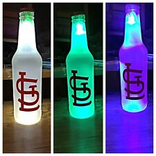 St. Louis Cardinals  LED Bottle Light, Pub Bar Neon Man Cave Sign MLB