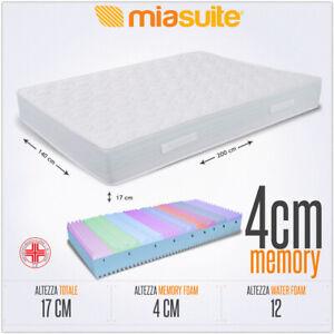 Materassi X Divano Letto.Materasso Memory Francese 140x200 Alto 17 Cm Memory 4cm Supreme