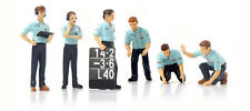Truescale TSM12AC13 Pit Crew Figurines Team Tyrrell F1 (Set Of 6) 1/43 Scale
